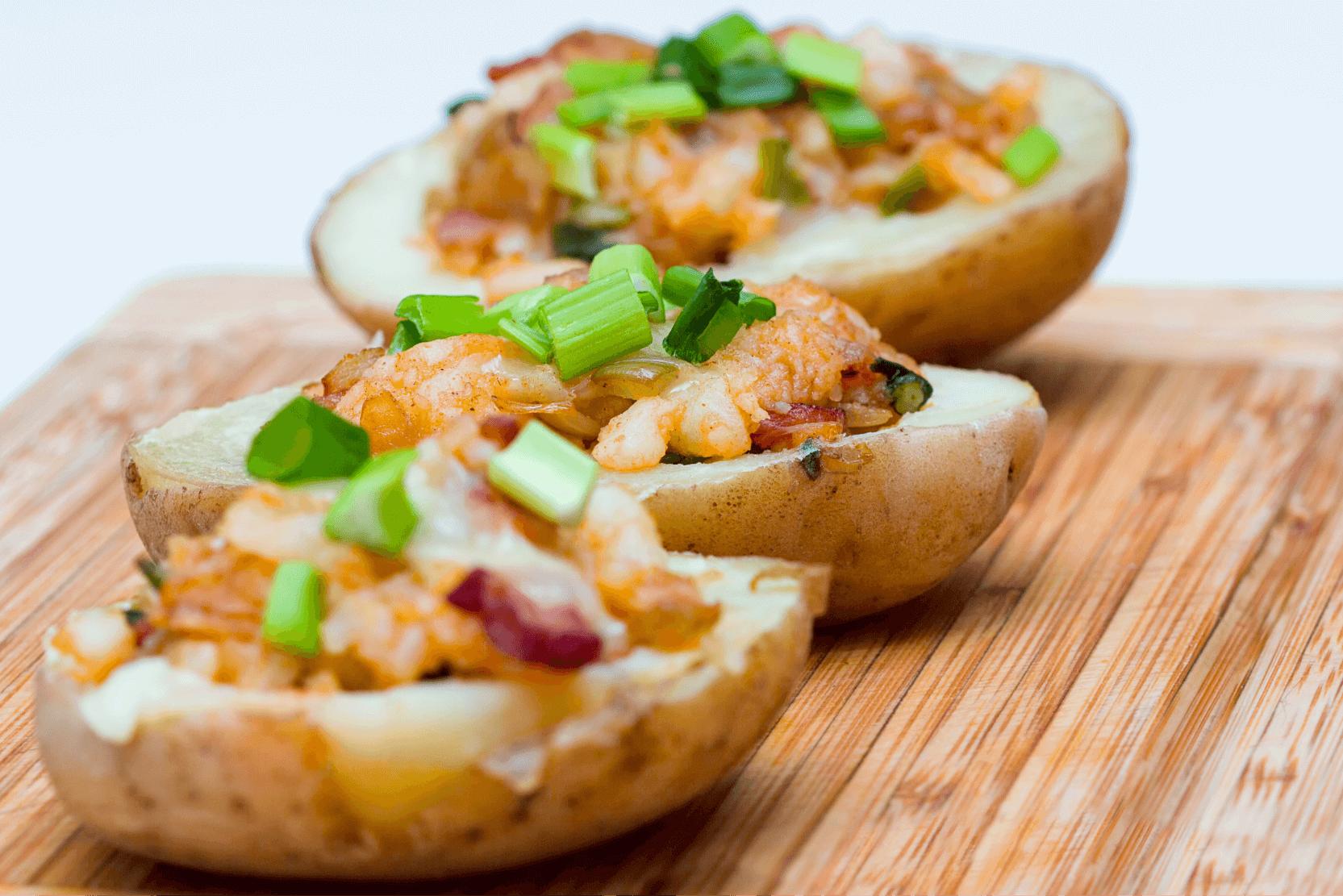 Gluten Free Potato Skins
