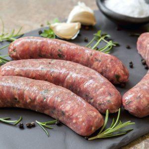 Jerk sausages