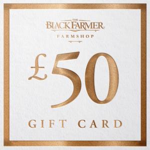 The Black Farmer £50 Gift Card