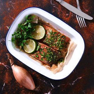 Trout Chalk Stream in Paprika & Mixed Herb
